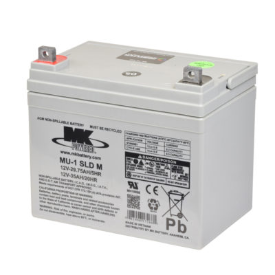 bateria agm 35ah mk power