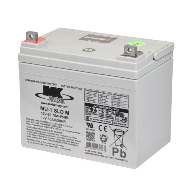 bateria agm 35ah mk power