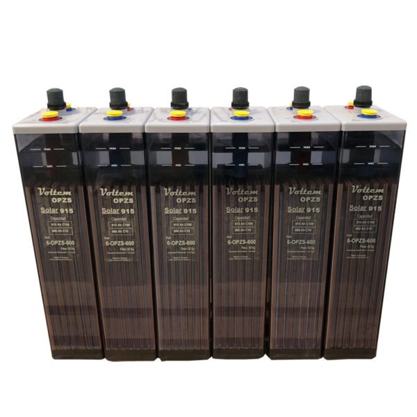 bateria 12v 915ah opzs voltem solar