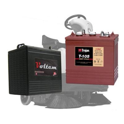 Baterias de Esfregadeiras e Varredeiras