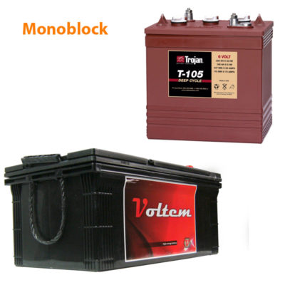 Baterias Solar Monoblock