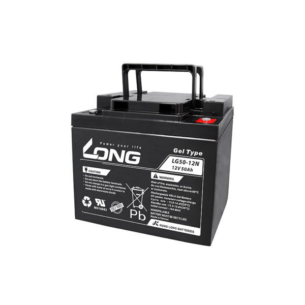 bateria gel 12v 50ah long