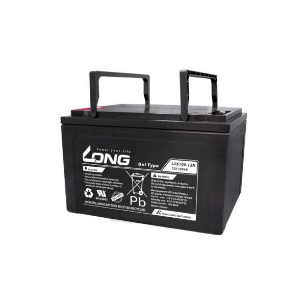bateria gel 12v 100ah long