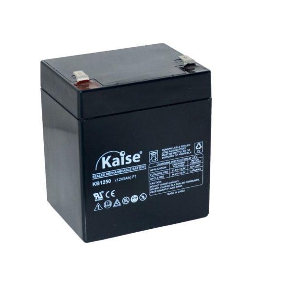 bateria agm 12v 5ah kaise