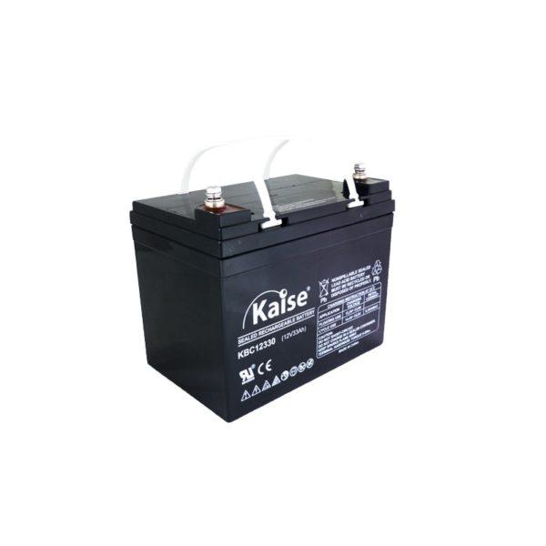 bateria agm ciclo profundo 12v 33ah kaise