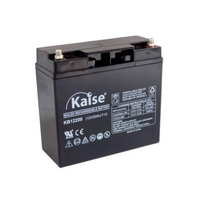bateria agm 12v 20ah kaise