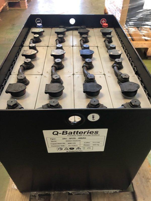bateria traçao lavadora pavimento 24v 400ah