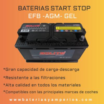 bateria arranque strt stop