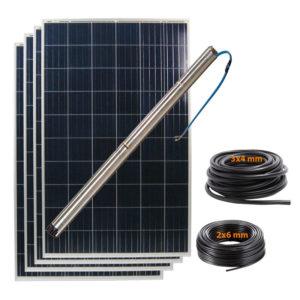 kit bombeo solar 4000L