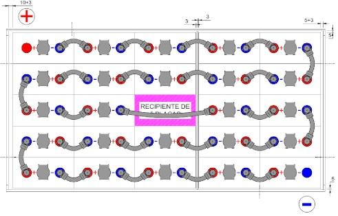 conexiones bateria carretilla 48v 775ah