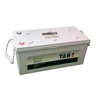bateria solar monoblock 12v 250ah agm tab motion
