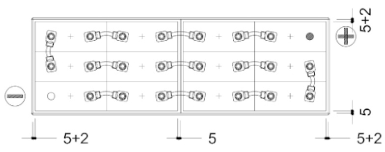 conexiones bateria 24v 320ah