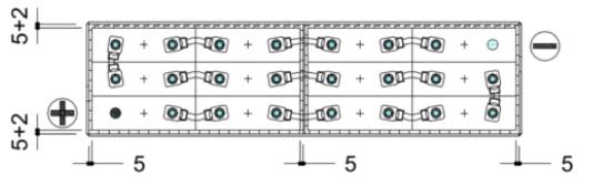 conexiones bateria carretilla 24v 270ah