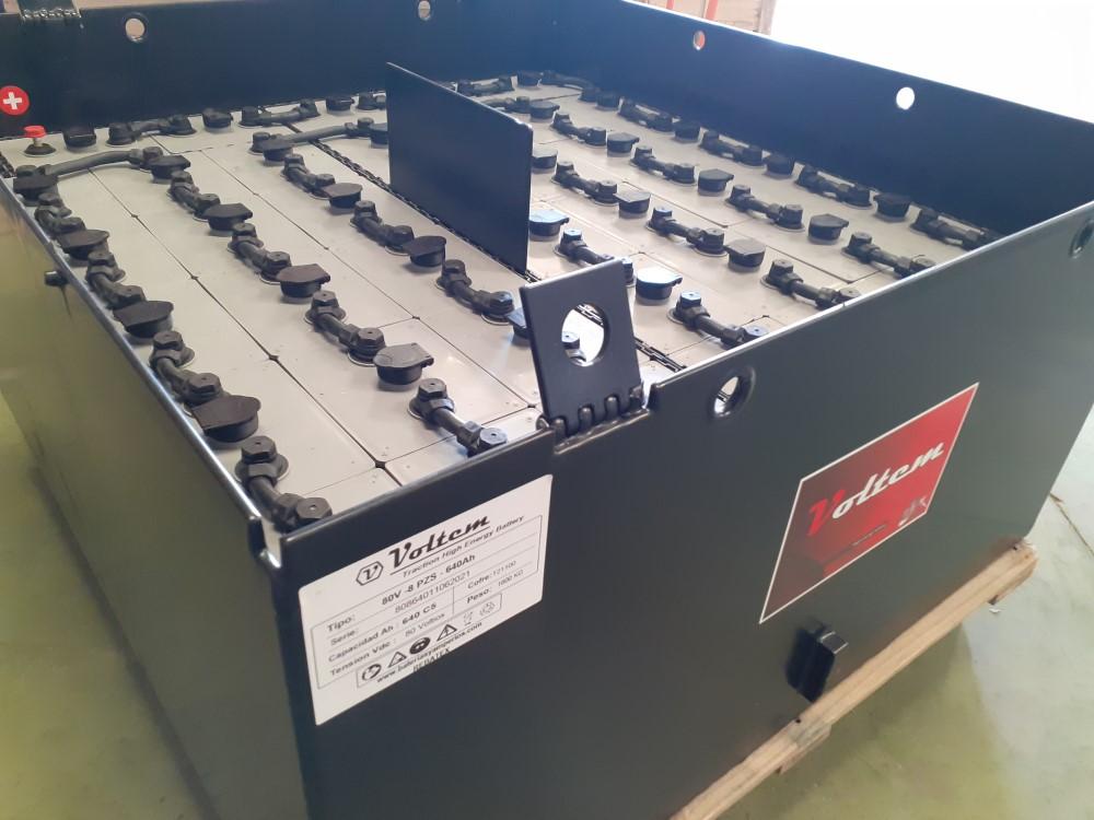 bateria carretilla 80v 640ah